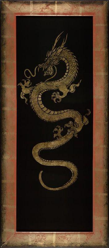 Golden Dragon #2 of pair