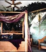Jungle Guest bedroom Mural view 2