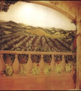 Vineyard View Mural view one